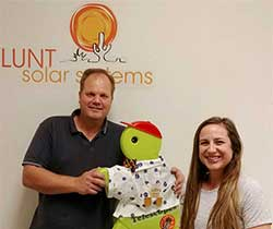 Lunt Solar System Friends- Brian and Faye